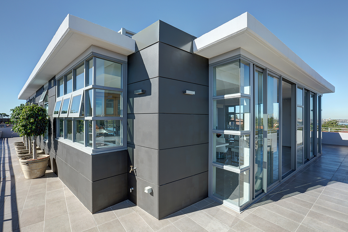 external view of mirage penthouse